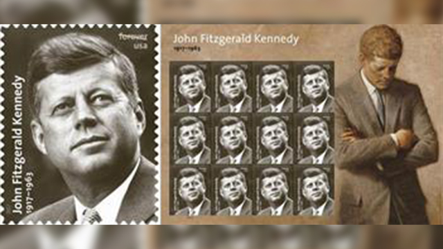 JFK Forever stamp to be dedicated on Presidents' Day