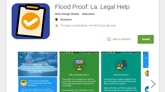 Flood Proof: Free legal help for homeowners with title problems launches iPhone app