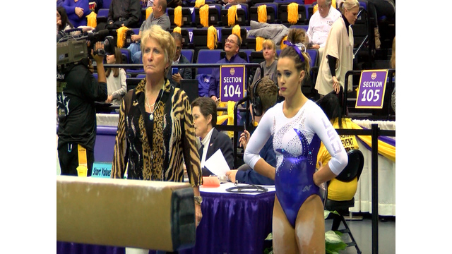 LSU Gymnastics Sets School Record with 16 All-America Honors
