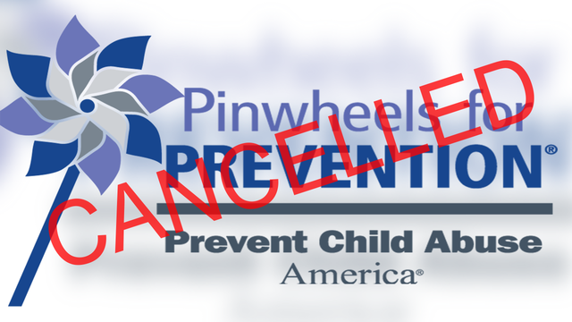 Saturday's Pinwheel Challenge cancelled due to weather