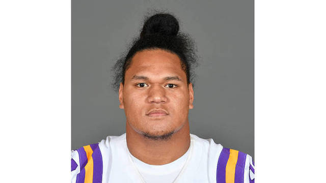 LSU suspends Maea Teuhema indefinitely for violating team rules