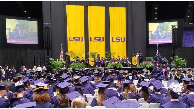 LSU awards 674 degrees at summer commencement