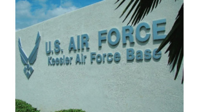 Armed gunman pursued on Mississippi Air Force Base
