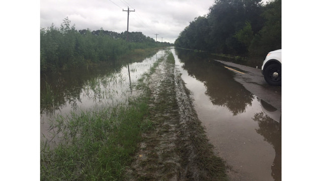 State Police confirm levee breach in Gueydan
