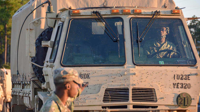 La. Guard 'stands down' for Florida response, remains ready