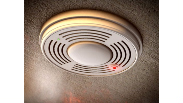 Fire department reminds people to change smoke detector batteries