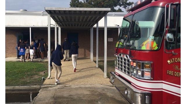 Fire at local middle school calls for evacuation