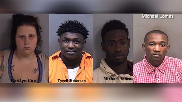 Four arrested in Ascension Parish armed robbery