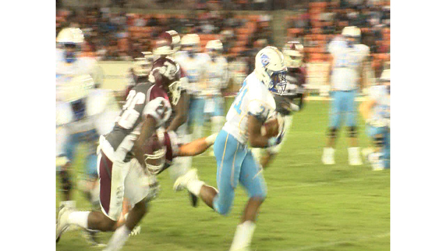 Edwards Rolls Up 159 yards, Southern beats Texas Southern 33-7