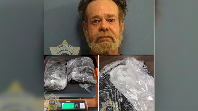 Authorities find $90,000 of meth in Slidell man's home
