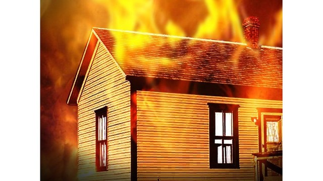 Fire destroys home in Baton Rouge on Friday afternoon