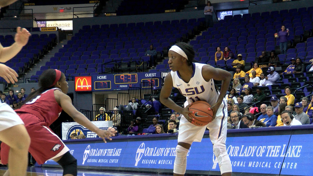 LSU Women Top Arkansas At The PMAC