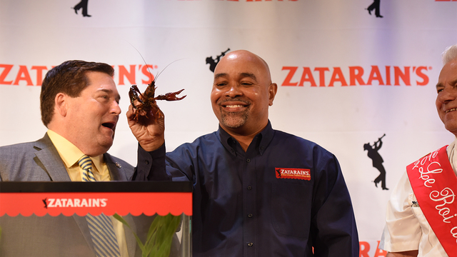 Louisiana Lt. Governor Billy Nungesser and Zatarain's Host Official Pardoning of Emile the Crawfish