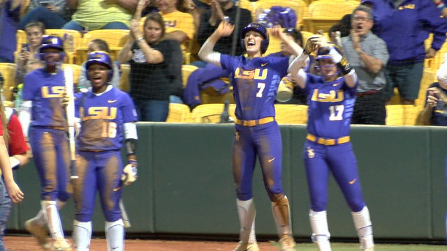 LSU Claims Series Against Auburn With 3-2 Walk-Off Win