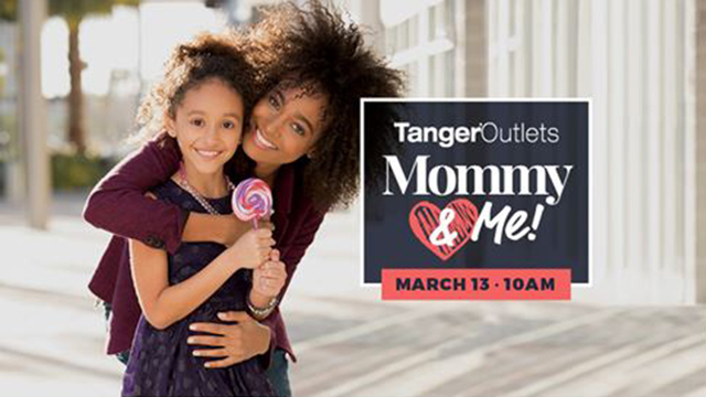 Tanger outlets Gonzales hosting Mommy and Me events from March through October