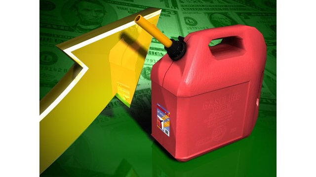 AAA says gas prices going up, likely to continue increasing