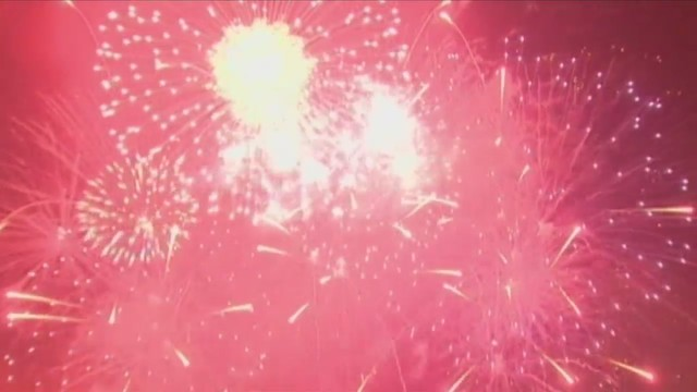 Fireworks display in Donaldsonville due to threat of rain
