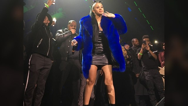 Cardi B makes mommy moves on Instagram