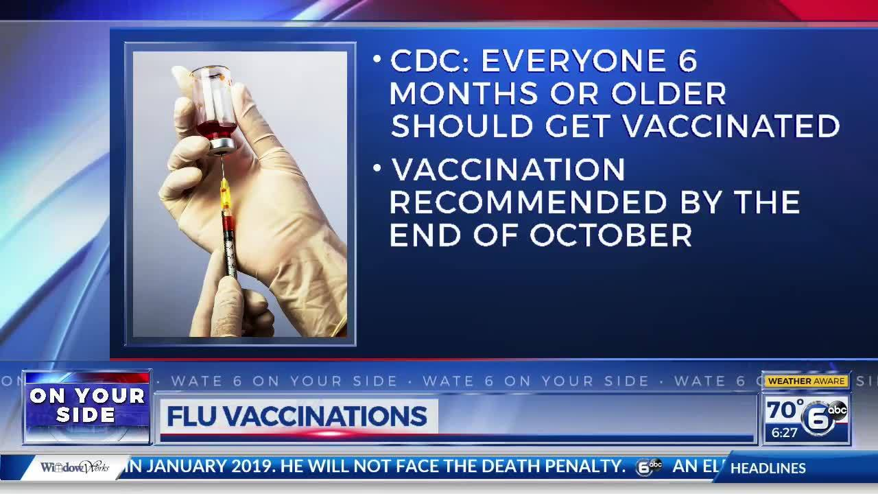 CDC releases flu vaccine recommendations for upcoming season