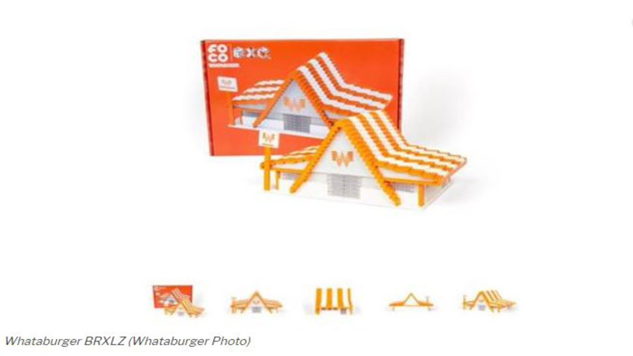 Whataburger releases LEGO-like build-your-own restaurant set