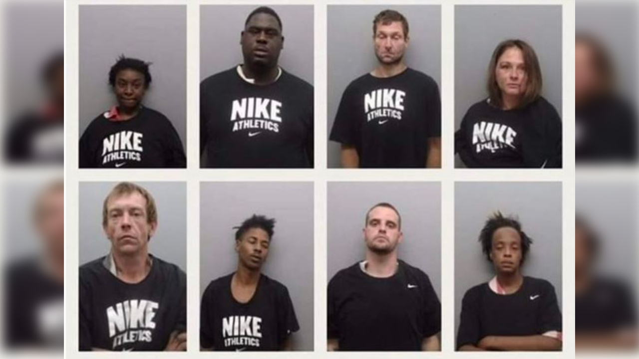 Activist: South Arkansas Sheriff Putting Inmates in Nike Shirts for