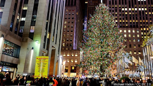 - Rockefeller Christmas Tree Lighting Tonight On NBC