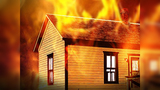 BRFD: Child playing with matches sparks garage fire