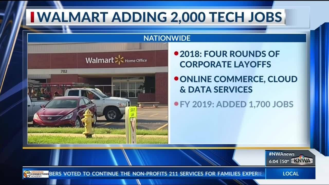 Walmart to Add Thousands of Tech Jobs in 2019