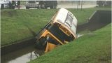 School bus crashes into New Orleans East canal