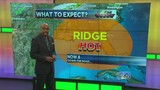 Thursday Morning: Ridge continues to build&#x3b; above average highs ahead